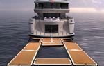yacht platform / inflatable / modular