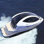 sightseeing boat / inboard waterjet / diesel / electric
