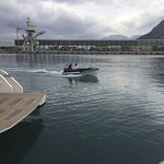 outboard small boat / electric / side console / yacht tender