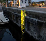 harbor ladder / for marinas / fixed / safety