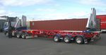 container trailer / shipyard / for terminals / side-lift