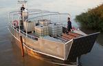 passenger boat professional boat / landing craft / inboard / aluminum