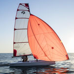 single-handed sailing dinghy / regatta