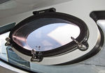 oval portlight / for boats / for yachts / opening