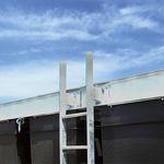 dock ladder / fixed / emergency / manual