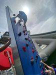 climbing-wall water toy