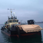 oil spill recovery boat professional boat / catamaran / inboard
