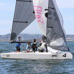 double-handed sailing dinghy / skiff / regatta / symmetric spinnaker