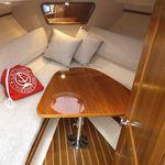 boat table / folding / teak