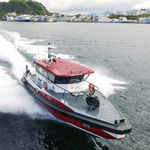 dive support boat professional boat / inboard waterjet