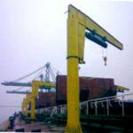 shipyard crane / luffing jib / pivoting jib