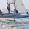 foiling sailboat