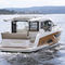 inboard express cruiser / twin-engine / hard-top / dive