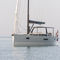 cruising-racing sailing yacht / open transom / 3-cabin / with bowsprit