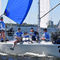 genoa / for one-design sport keelboats / J24 / tri-radial cut