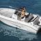 outboard center console boat / center console / open / ski