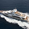 cruising mega-yacht / flybridge / composite / GRP
