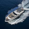 cruising super-yacht / flybridge / raised pilothouse / displacement