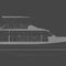 catamaran motor yacht / cruising / wheelhouse / displacement hull