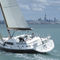 cruising sailing yacht / deck saloon / center cockpit