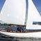 multiple sailing dinghy