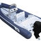 outboard inflatable boat / rigid / center console / offshore