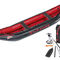 multi-use canoe / inflatable / 2-person / rubber