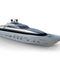 cruising super-yacht / with enclosed flybridge / aluminum / planing hull