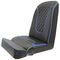 helm seat / stand-up / for boats / with armrests