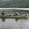 Canadian canoe / 2-person / fiberglass