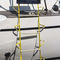 boat ladder / folding / adjustable / emergency