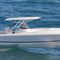 outboard walkaround / twin-engine / sport-fishing / with T-top