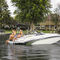inboard deck boat / dual-console / wakeboard / 10-person max.