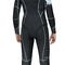 dive wetsuit / long-sleeve / shorty / with hood