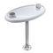 aluminum boat table pedestal
