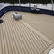 non-slip boat decking / cockpit linings / synthetic teak battens / teak-effect