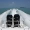 outboard inflatable boat / inboard / twin-engine / rigid