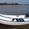 outboard inflatable boat / rigid / 3-person