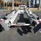 road trailer / for boats / hydraulic / electric