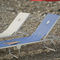 yacht sun lounger / for boats / adjustable / folding