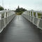 marina gangway / with handrails / aluminum