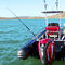 outboard inflatable boat / rigid / center console / dive