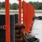 floating work pontoon special vessel / for inland waters