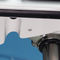 sailboat navigation instrument bracket / helm wheel