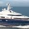 cruising mega-yacht / wheelhouse / steel / 6-cabin