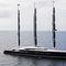 cruising sailing super-yacht / flybridge / 3 masts