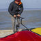 kitesurfing pump / inflation / air-operated / hand
