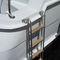 boat ladder / retractable / swim / manual