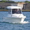 outboard walkaround / wheelhouse / with enclosed cockpit / sport