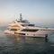 cruising super-yacht / flybridge / wheelhouse / shaft drive